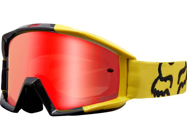 Fox Main Master Gogle żółty